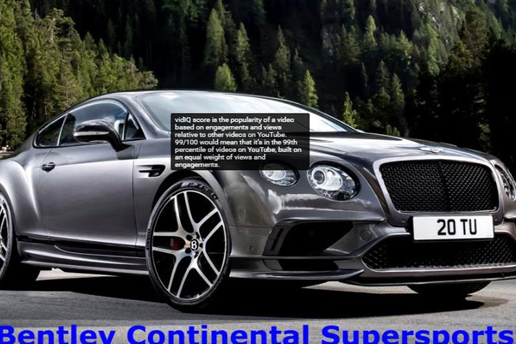 Bentley Continental Supersports (2018)